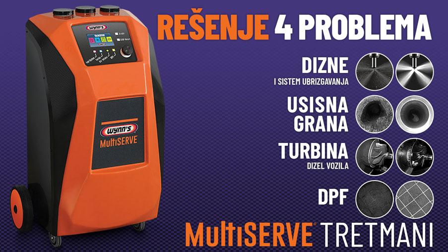 NOVO: MultiServe - Najmoćniji Wynn's uređaj, do sada!