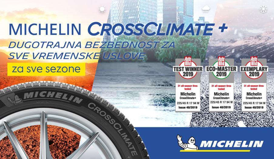 MICHELIN CrossClimate pneumatik
