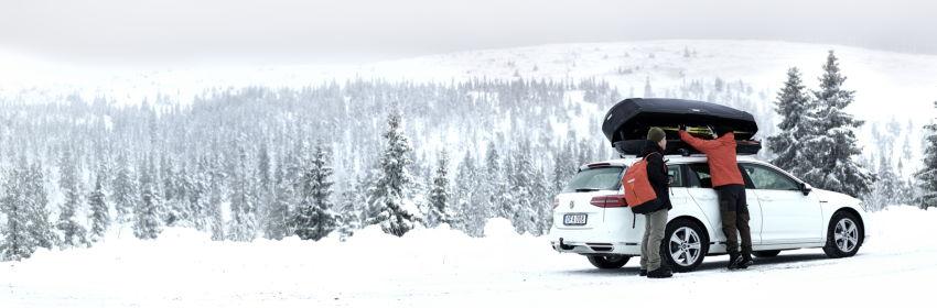 NOVO u THULE SHOP-u: Thule Motion XT Alpine – krovni kofer za zaljubljenike u skijanje