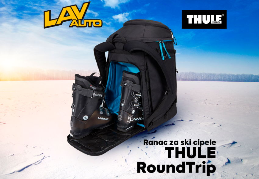 Novo u Thule Shop-u - Thule RoundTrip Boot Backpack 60L