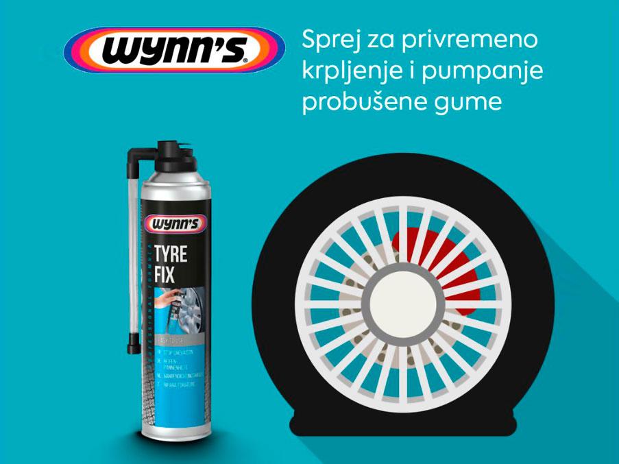 Wynn's TYRE FIX – pouzdan baš kad treba!