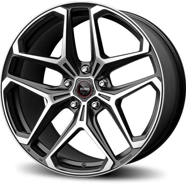 MOMO Rf04 Alu felna 20x9J 5/112 ET40 Matt Black Polished