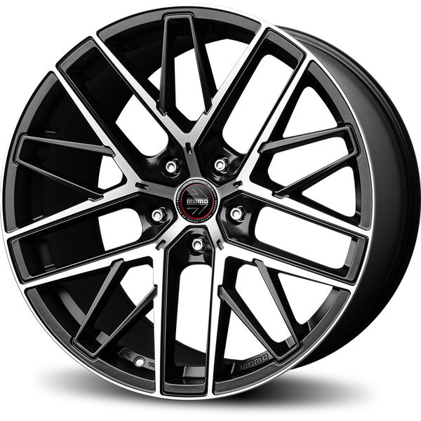 MOMO Rfx01 Alu felna 21x11J 5/112 ET38 Matt Black Polished