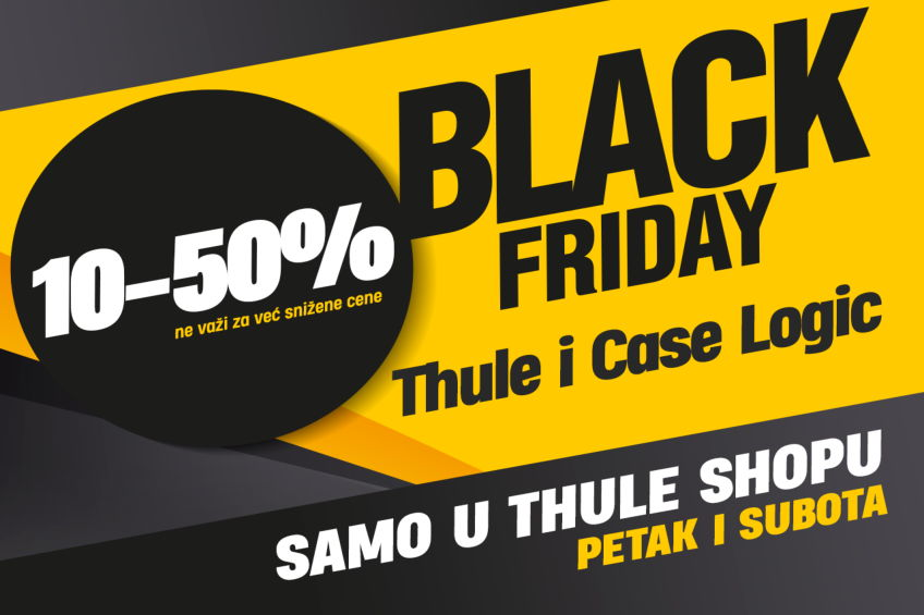 Akcija: Black friday 2020 u Thule Shop-u