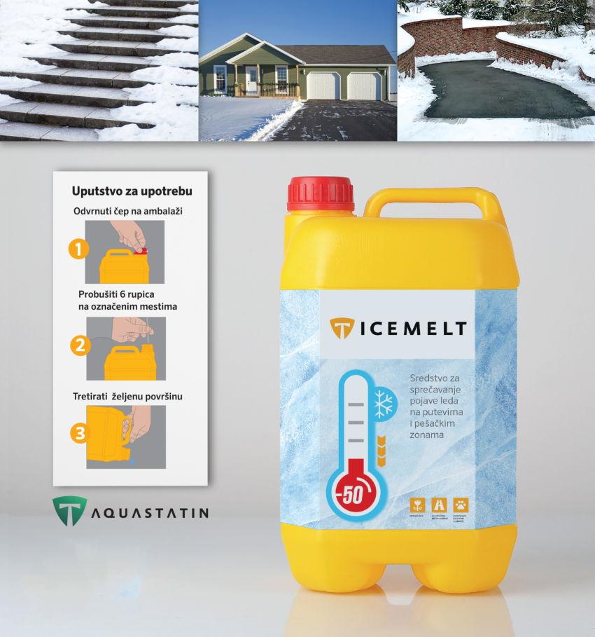 NOVO U LAV AUTU – ICE MELT: sredstvo koje sprečava nastanak leda na svim površinama